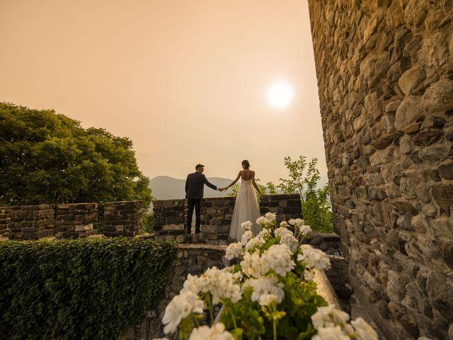 Il matrimonio di Dario e Federica a Lierna, Lecco 73