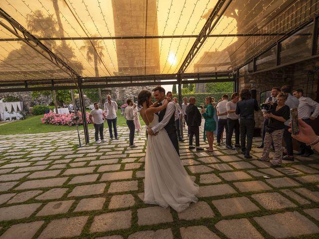 Il matrimonio di Dario e Federica a Lierna, Lecco 81