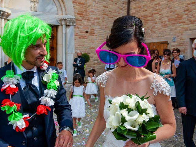 Il matrimonio di Sabrina e Franceso a Recanati, Macerata 8