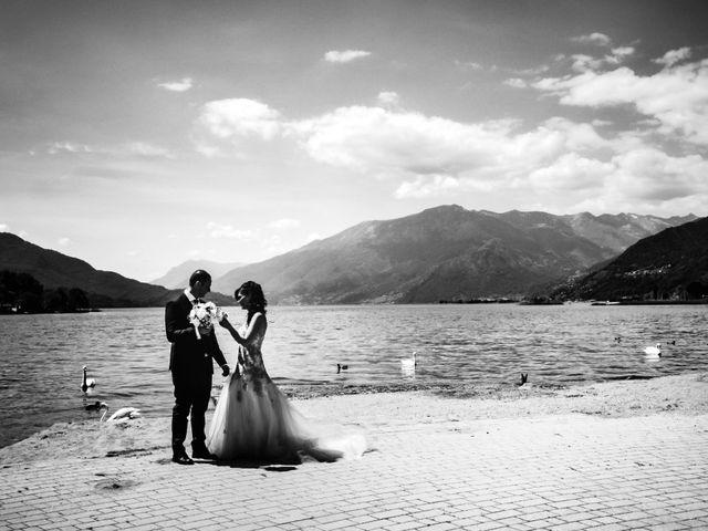 Il matrimonio di Luca e Bea a GeraLario, Como 27