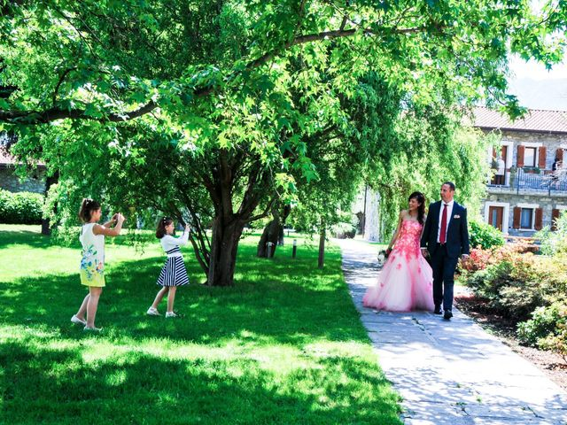 Il matrimonio di Luca e Bea a GeraLario, Como 34
