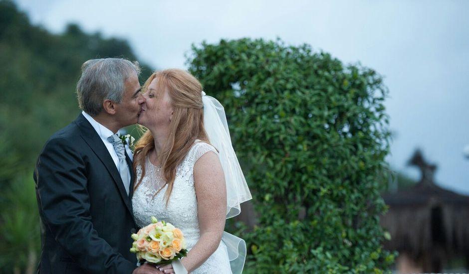 Il matrimonio di Domenico e Michela a Bracciano, Roma