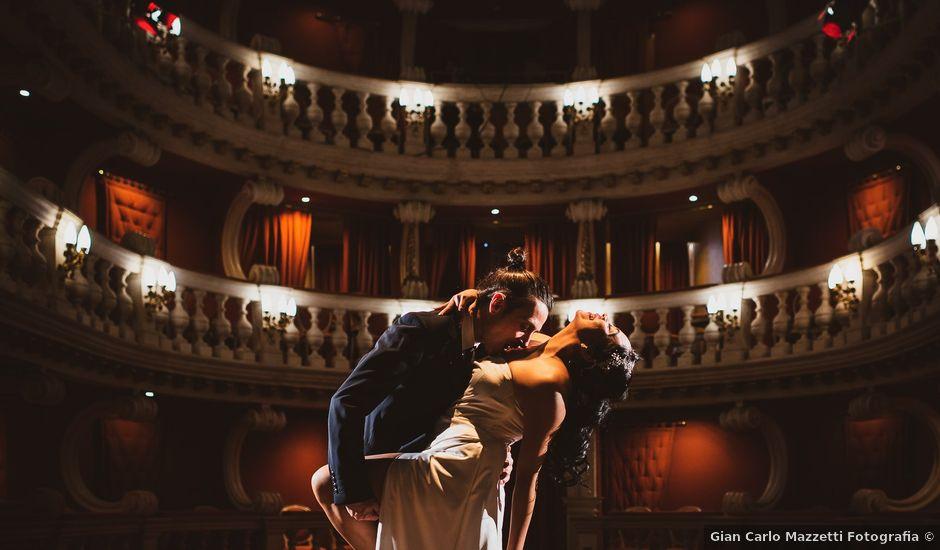 Il matrimonio di Marallely e Marco a Bibbiena, Arezzo