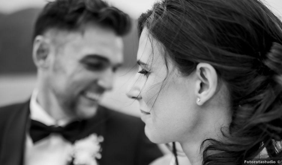 Il matrimonio di Dario e Federica a Lierna, Lecco