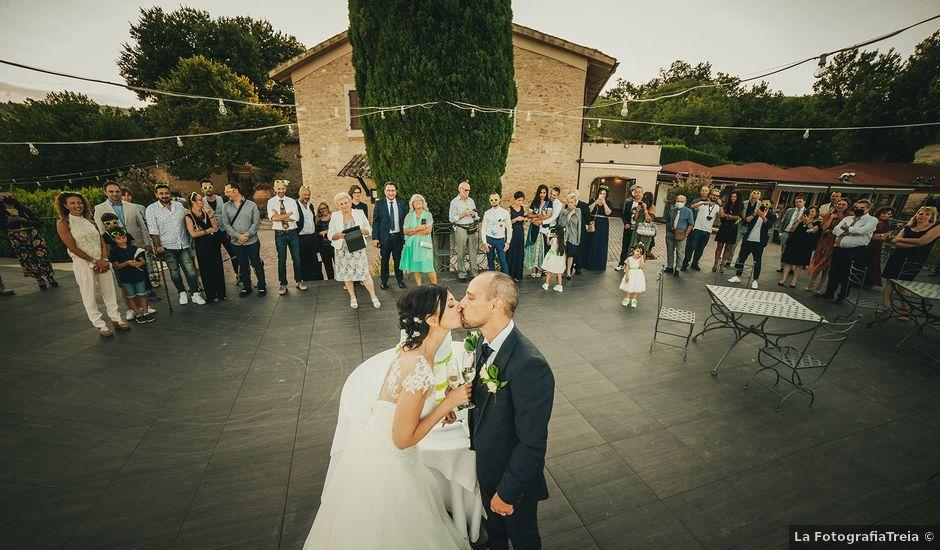 Il matrimonio di Sabrina e Franceso a Recanati, Macerata