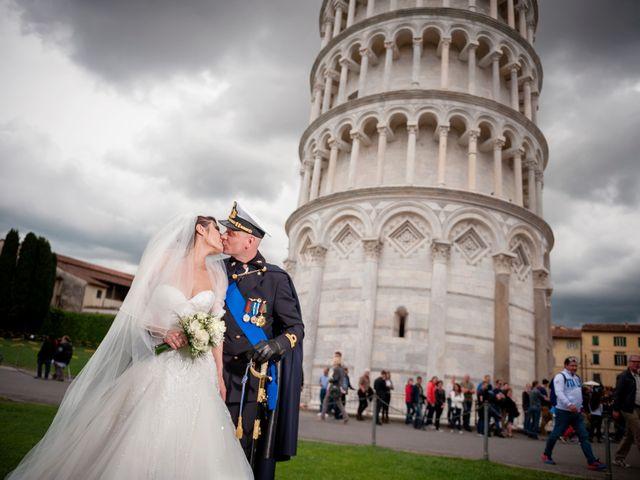 le nozze di Giuseppina e Massimiliano