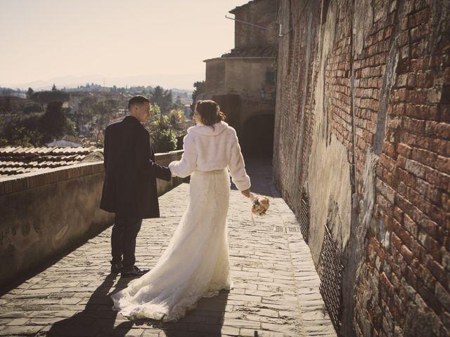 Il matrimonio di Riccardo e Natascia a Peccioli, Pisa 46