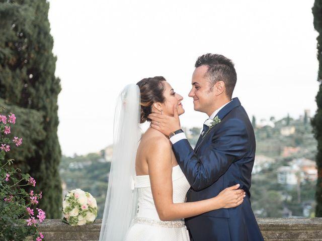 Il matrimonio di Alessandro e Marjan a Rapallo, Genova 35
