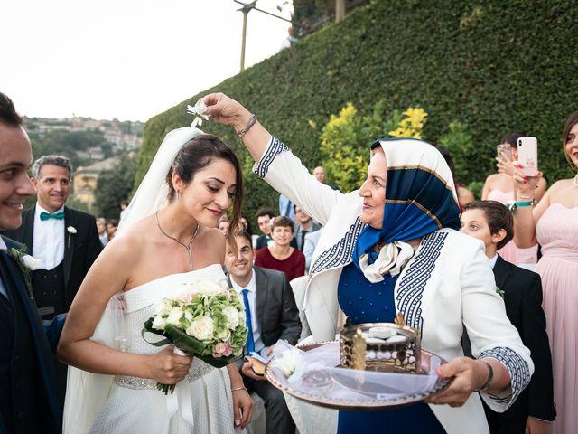 Il matrimonio di Alessandro e Marjan a Rapallo, Genova 41