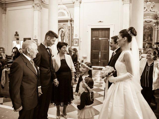 Il matrimonio di Elena e Simone a Santa Giustina in Colle, Padova 30