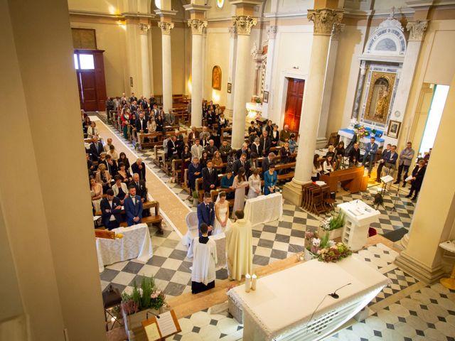 Il matrimonio di Elena e Simone a Santa Giustina in Colle, Padova 36