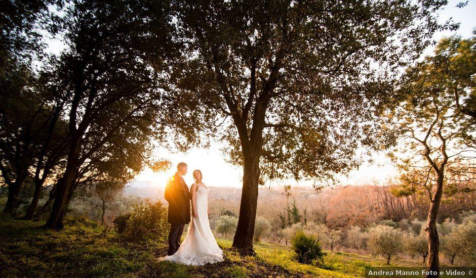Il matrimonio di Riccardo e Natascia a Peccioli, Pisa