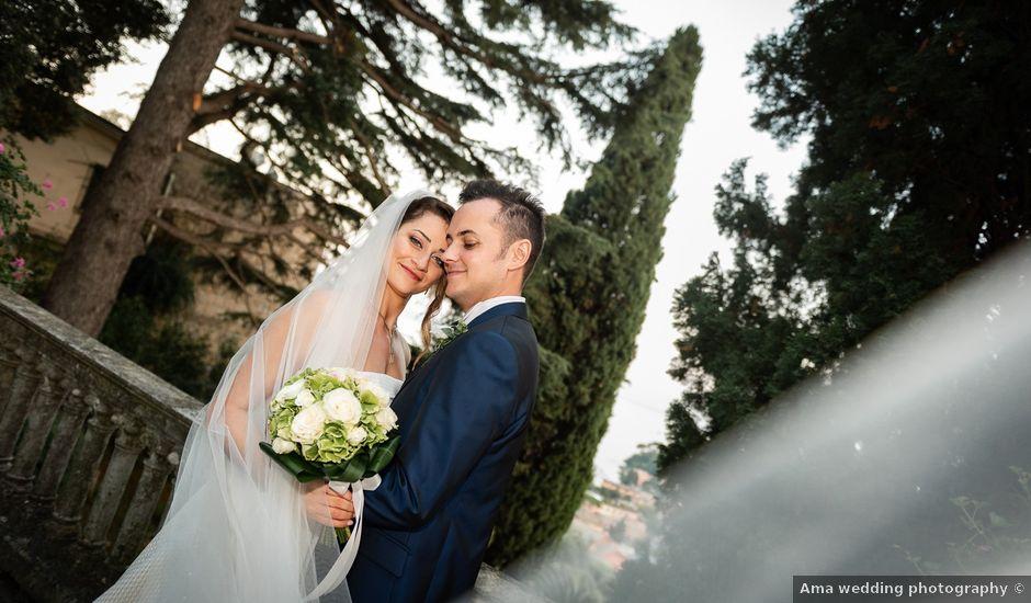 Il matrimonio di Alessandro e Marjan a Rapallo, Genova