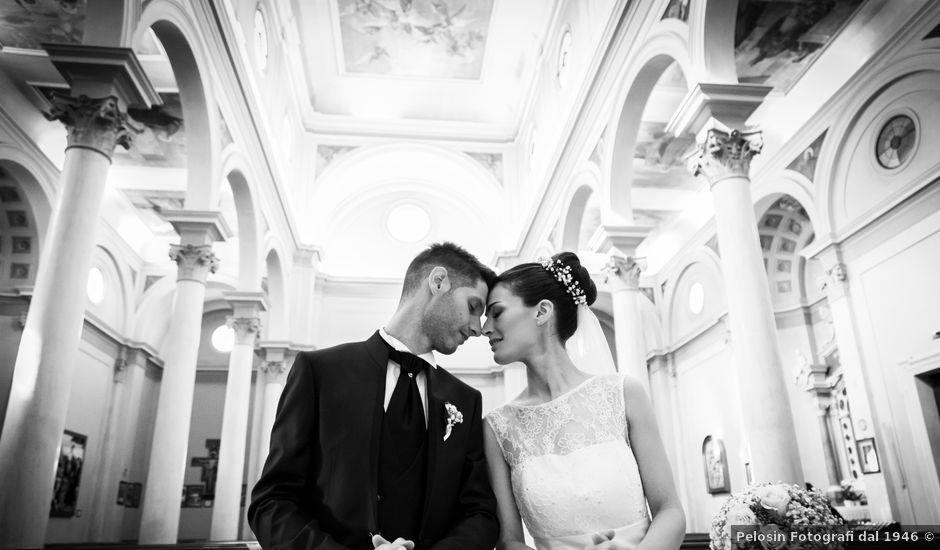 Il matrimonio di Elena e Simone a Santa Giustina in Colle, Padova