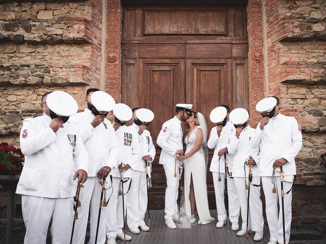 Il matrimonio di Michele e Antonella a Bibbiena, Arezzo 1