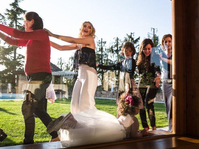 Il matrimonio di stefano e lorenza a Settimo Torinese, Torino 45