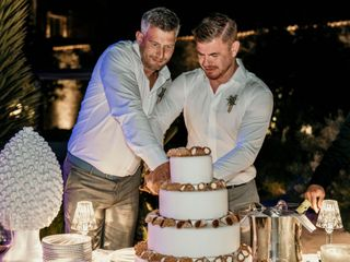 Le nozze di Robert e Andrew