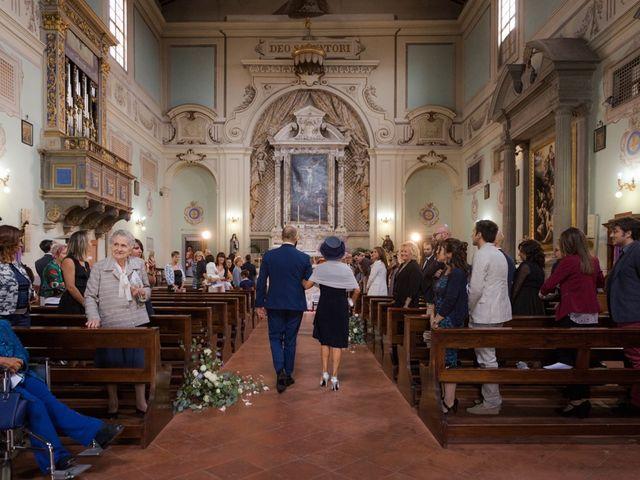Il matrimonio di Massimiliano e Clizia a Fucecchio, Firenze 25