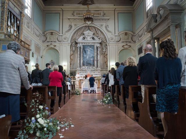 Il matrimonio di Massimiliano e Clizia a Fucecchio, Firenze 34