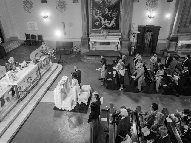 Il matrimonio di Massimiliano e Clizia a Fucecchio, Firenze 37