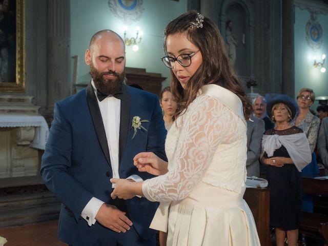 Il matrimonio di Massimiliano e Clizia a Fucecchio, Firenze 44