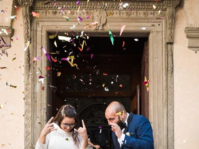 Il matrimonio di Massimiliano e Clizia a Fucecchio, Firenze 51