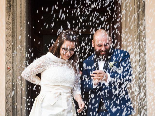 Il matrimonio di Massimiliano e Clizia a Fucecchio, Firenze 52
