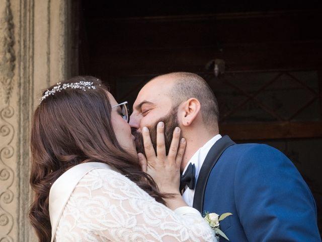 Il matrimonio di Massimiliano e Clizia a Fucecchio, Firenze 53