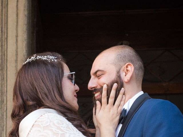 Il matrimonio di Massimiliano e Clizia a Fucecchio, Firenze 54