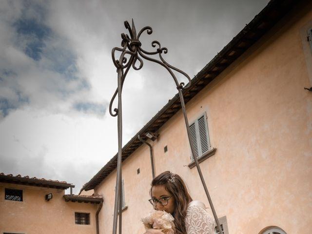 Il matrimonio di Massimiliano e Clizia a Fucecchio, Firenze 56