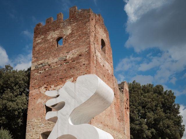 Il matrimonio di Massimiliano e Clizia a Fucecchio, Firenze 62