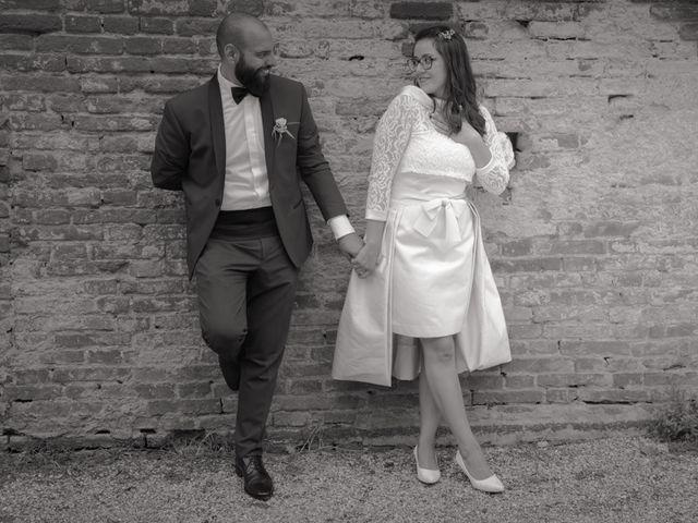Il matrimonio di Massimiliano e Clizia a Fucecchio, Firenze 69