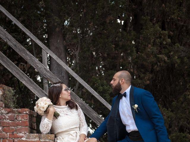Il matrimonio di Massimiliano e Clizia a Fucecchio, Firenze 71