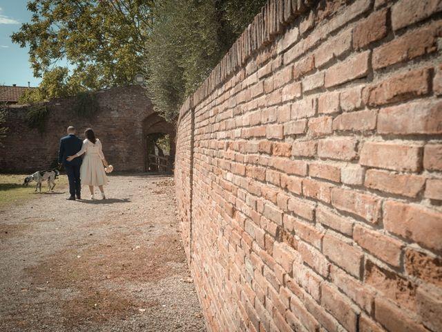 Il matrimonio di Massimiliano e Clizia a Fucecchio, Firenze 74