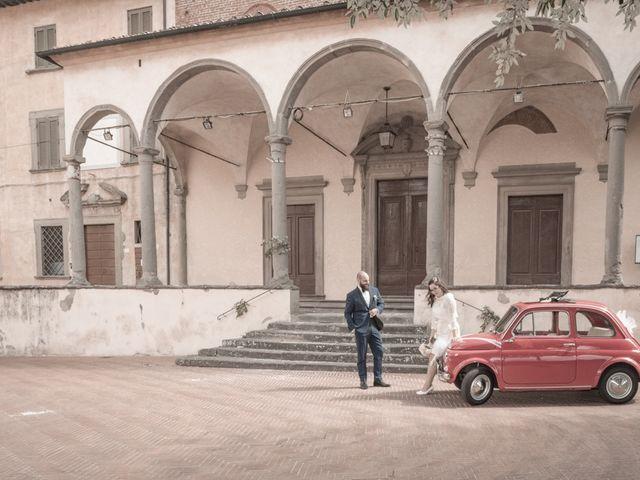 Il matrimonio di Massimiliano e Clizia a Fucecchio, Firenze 79