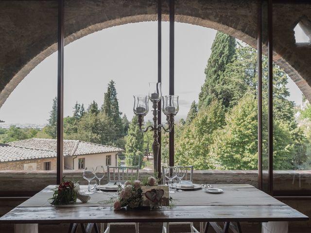Il matrimonio di Massimiliano e Clizia a Fucecchio, Firenze 81