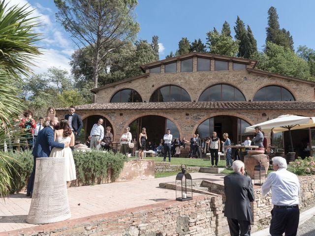 Il matrimonio di Massimiliano e Clizia a Fucecchio, Firenze 86