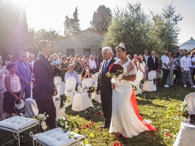 Il matrimonio di Luca e Valentina a Cerreto Guidi, Firenze 45