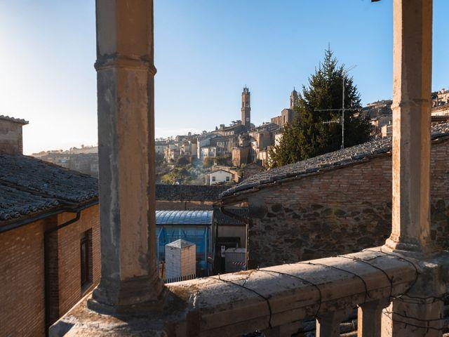 Il matrimonio di Simone e Elisa a Montalcino, Siena 1