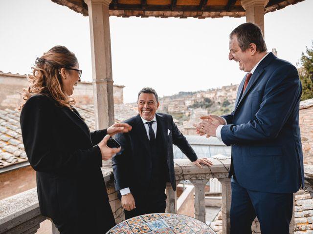 Il matrimonio di Simone e Elisa a Montalcino, Siena 20