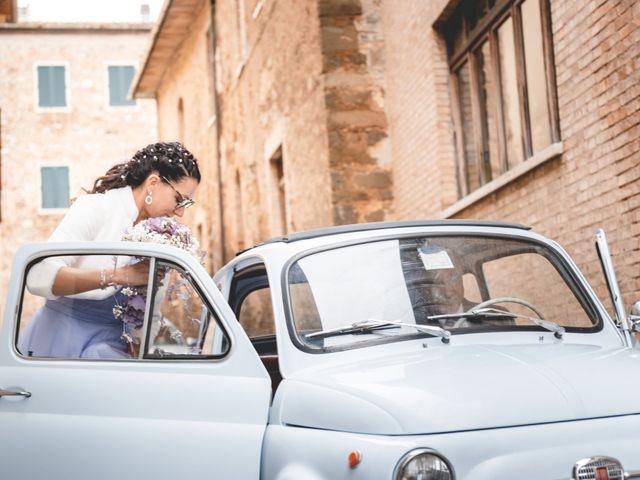 Il matrimonio di Simone e Elisa a Montalcino, Siena 24