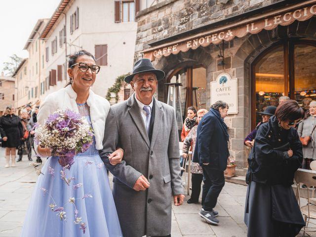 Il matrimonio di Simone e Elisa a Montalcino, Siena 26