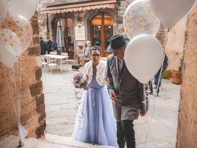 Il matrimonio di Simone e Elisa a Montalcino, Siena 27