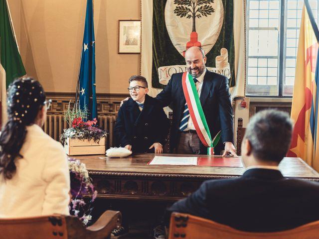 Il matrimonio di Simone e Elisa a Montalcino, Siena 30