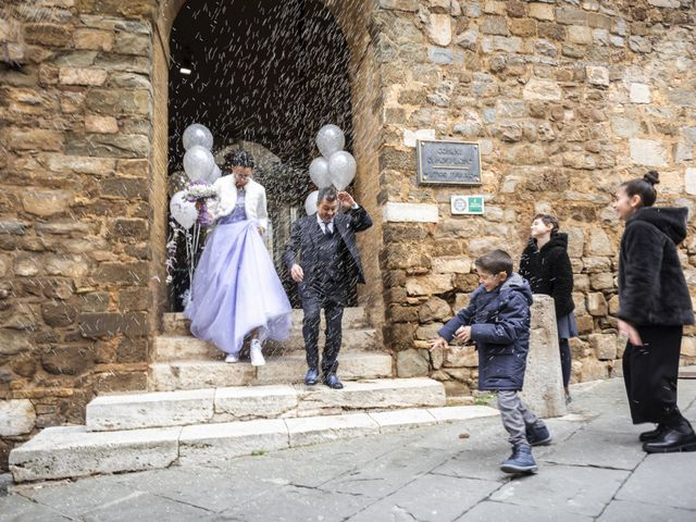 Il matrimonio di Simone e Elisa a Montalcino, Siena 34