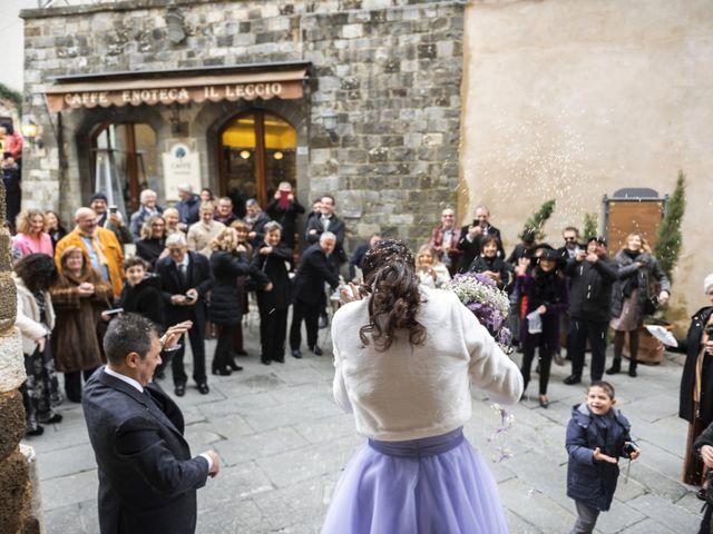 Il matrimonio di Simone e Elisa a Montalcino, Siena 35