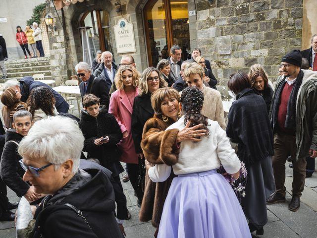 Il matrimonio di Simone e Elisa a Montalcino, Siena 36