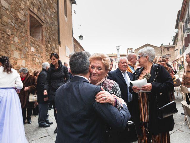 Il matrimonio di Simone e Elisa a Montalcino, Siena 37