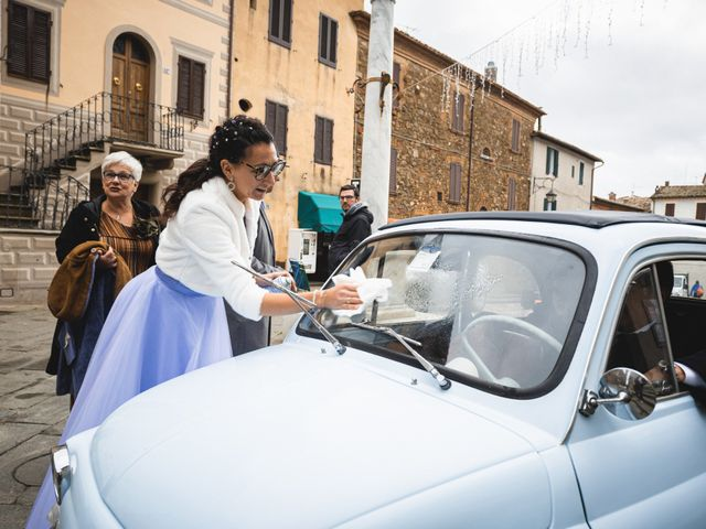 Il matrimonio di Simone e Elisa a Montalcino, Siena 40