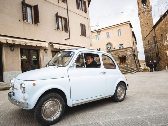 Il matrimonio di Simone e Elisa a Montalcino, Siena 41